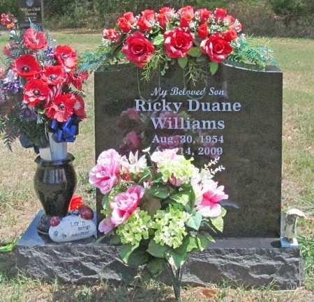 WILLIAMS, RICKY DUANE - Madison County, Arkansas | RICKY DUANE WILLIAMS - Arkansas Gravestone Photos