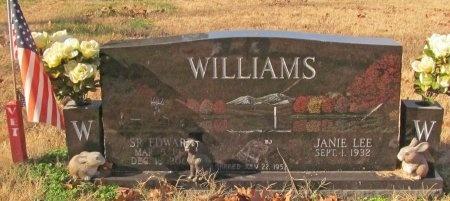 WILLIAMS, S R EDWARD - Madison County, Arkansas   S R EDWARD WILLIAMS - Arkansas Gravestone Photos