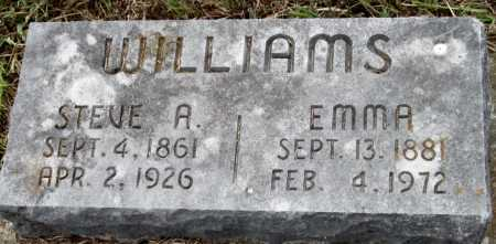 WILLIAMS, EMMA ELIZA - Madison County, Arkansas | EMMA ELIZA WILLIAMS - Arkansas Gravestone Photos