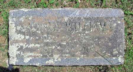 WILLIAMS, SARAH AMANDA - Madison County, Arkansas | SARAH AMANDA WILLIAMS - Arkansas Gravestone Photos