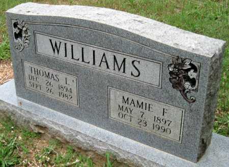 WILLIAMS, THOMAS LEFFEL - Madison County, Arkansas | THOMAS LEFFEL WILLIAMS - Arkansas Gravestone Photos