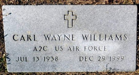 WILLIAMS (VETERAN), CARL WAYNE - Madison County, Arkansas | CARL WAYNE WILLIAMS (VETERAN) - Arkansas Gravestone Photos