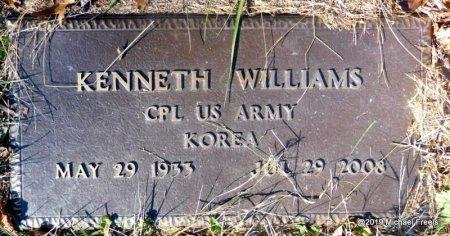 WILLIAMS (VETERAN KOR), KENNETH - Madison County, Arkansas | KENNETH WILLIAMS (VETERAN KOR) - Arkansas Gravestone Photos