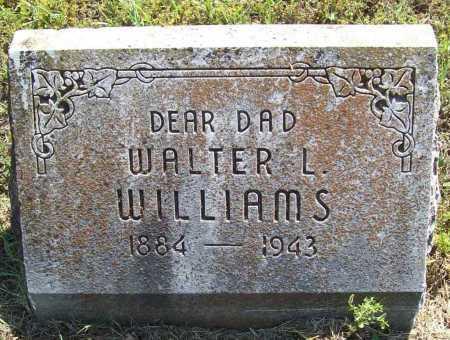 WILLIAMS, WALTER L. - Madison County, Arkansas | WALTER L. WILLIAMS - Arkansas Gravestone Photos