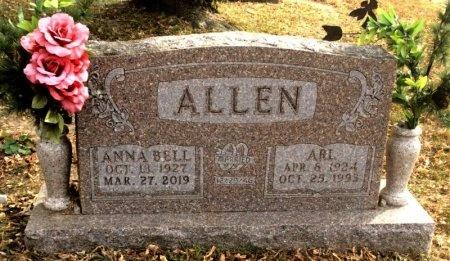 ALLEN, ARL - Marion County, Arkansas | ARL ALLEN - Arkansas Gravestone Photos
