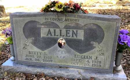 ALLEN, BETTY SUE - Marion County, Arkansas | BETTY SUE ALLEN - Arkansas Gravestone Photos