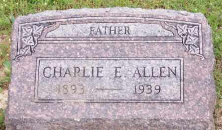 ALLEN, CHARLIE E. - Marion County, Arkansas   CHARLIE E. ALLEN - Arkansas Gravestone Photos