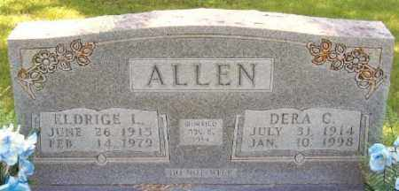 ALLEN, DERA G. - Marion County, Arkansas   DERA G. ALLEN - Arkansas Gravestone Photos