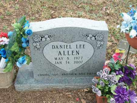 ALLEN, DANIEL LEE - Marion County, Arkansas | DANIEL LEE ALLEN - Arkansas Gravestone Photos
