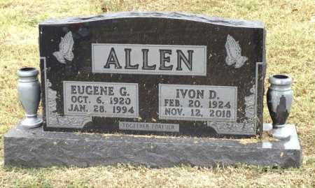 ALLEN, IVON D. - Marion County, Arkansas | IVON D. ALLEN - Arkansas Gravestone Photos