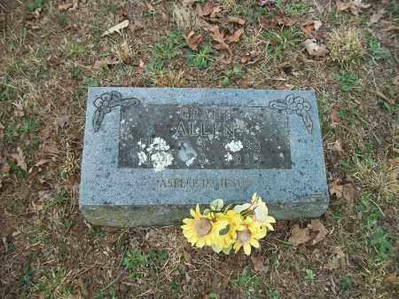 ALLEN, NATHANIEL GRANT - Marion County, Arkansas | NATHANIEL GRANT ALLEN - Arkansas Gravestone Photos