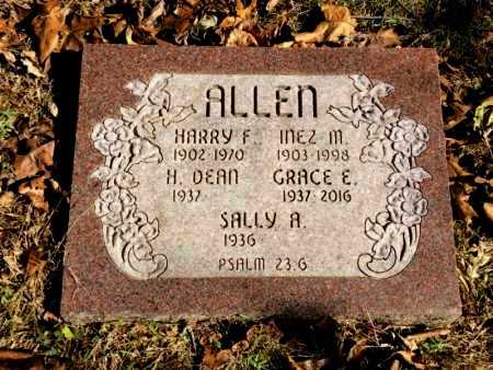 ALLEN, INEZ M. - Marion County, Arkansas | INEZ M. ALLEN - Arkansas Gravestone Photos