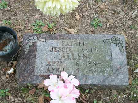 ALLEN, JESSIE JAMES - Marion County, Arkansas | JESSIE JAMES ALLEN - Arkansas Gravestone Photos