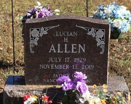 ALLEN, LUCIAN H. - Marion County, Arkansas | LUCIAN H. ALLEN - Arkansas Gravestone Photos