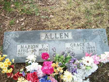 ALLEN, MARION THOMAS - Marion County, Arkansas | MARION THOMAS ALLEN - Arkansas Gravestone Photos