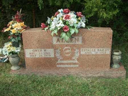 ALLEN, OWEN W. - Marion County, Arkansas | OWEN W. ALLEN - Arkansas Gravestone Photos