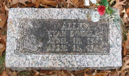 ALLEN, RYAN DOUGLAS - Marion County, Arkansas | RYAN DOUGLAS ALLEN - Arkansas Gravestone Photos