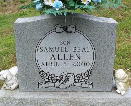 ALLEN, SAMUEL BEAU - Marion County, Arkansas | SAMUEL BEAU ALLEN - Arkansas Gravestone Photos