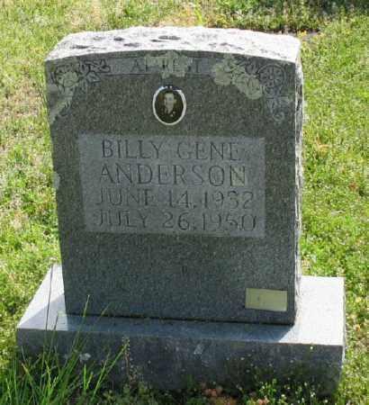 ANDERSON, BILLY GENE - Marion County, Arkansas | BILLY GENE ANDERSON - Arkansas Gravestone Photos
