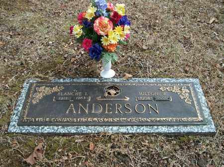 ANDERSON, MILTON W. - Marion County, Arkansas   MILTON W. ANDERSON - Arkansas Gravestone Photos