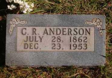 ANDERSON, C. R. - Marion County, Arkansas | C. R. ANDERSON - Arkansas Gravestone Photos