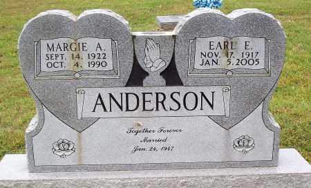 ANDERSON, MARGIE A. - Marion County, Arkansas   MARGIE A. ANDERSON - Arkansas Gravestone Photos