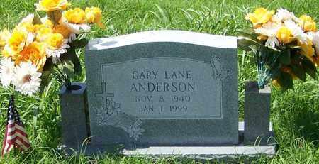 ANDERSON, GARY LANE - Marion County, Arkansas | GARY LANE ANDERSON - Arkansas Gravestone Photos