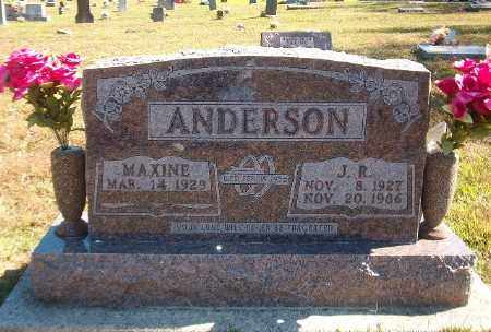 ANDERSON, J. R. - Marion County, Arkansas   J. R. ANDERSON - Arkansas Gravestone Photos