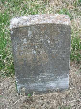 ANDERSON, ROY K. - Marion County, Arkansas | ROY K. ANDERSON - Arkansas Gravestone Photos