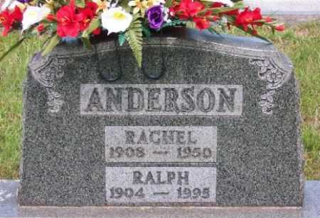 ANDERSON, RACHEL - Marion County, Arkansas | RACHEL ANDERSON - Arkansas Gravestone Photos