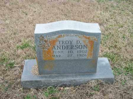 ANDERSON, TROY D. - Marion County, Arkansas | TROY D. ANDERSON - Arkansas Gravestone Photos