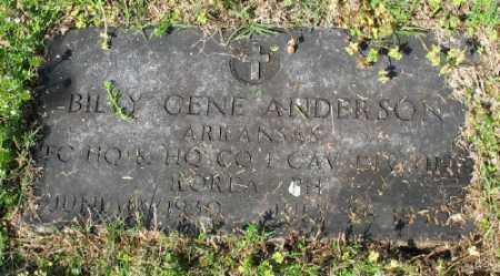 ANDERSON (VETERAN KOR), BILLY GENE - Marion County, Arkansas | BILLY GENE ANDERSON (VETERAN KOR) - Arkansas Gravestone Photos