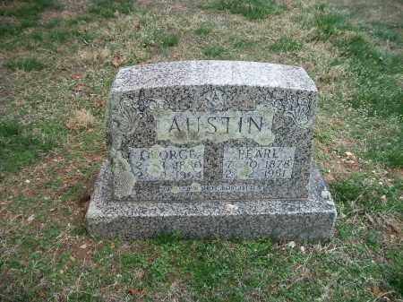 AUSTIN, PEARL - Marion County, Arkansas | PEARL AUSTIN - Arkansas Gravestone Photos