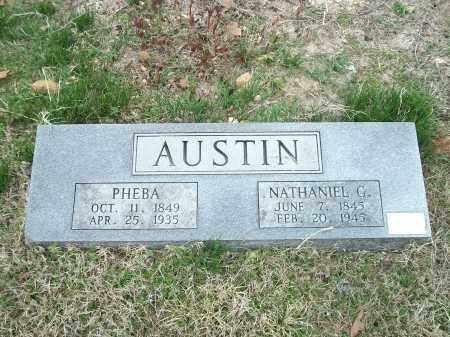 AUSTIN, PHEBA - Marion County, Arkansas | PHEBA AUSTIN - Arkansas Gravestone Photos
