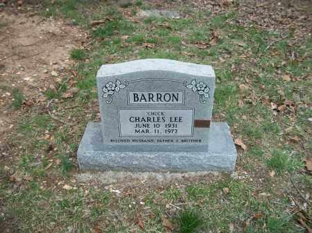 "BARRON, CHARLES LEE ""CHUCK"" - Marion County, Arkansas | CHARLES LEE ""CHUCK"" BARRON - Arkansas Gravestone Photos"