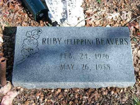BEAVERS, RUBY - Marion County, Arkansas   RUBY BEAVERS - Arkansas Gravestone Photos