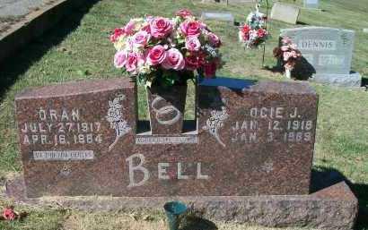 BELL, ORAN - Marion County, Arkansas | ORAN BELL - Arkansas Gravestone Photos