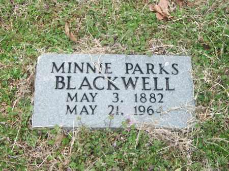 BLACKWELL, MINNIE - Marion County, Arkansas | MINNIE BLACKWELL - Arkansas Gravestone Photos
