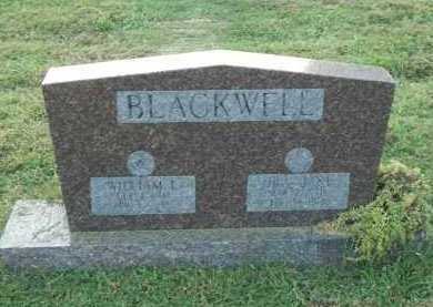 BLACKWELL, ORA JANE - Marion County, Arkansas | ORA JANE BLACKWELL - Arkansas Gravestone Photos