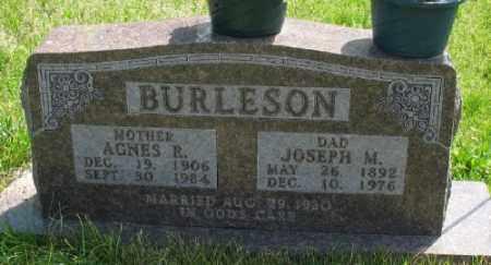 BURLESON, JOSEPH M. - Marion County, Arkansas | JOSEPH M. BURLESON - Arkansas Gravestone Photos