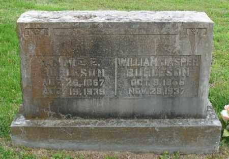 BURLESON, ANNIE E. - Marion County, Arkansas | ANNIE E. BURLESON - Arkansas Gravestone Photos
