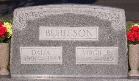 BURLESON, DALIA - Marion County, Arkansas | DALIA BURLESON - Arkansas Gravestone Photos