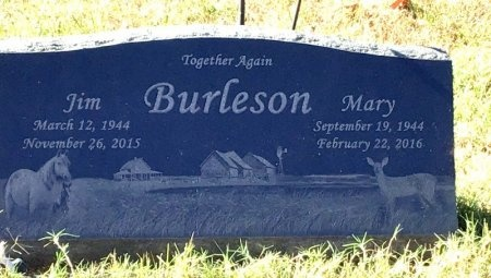 WEAVER BURLESON, MARY BELL - Marion County, Arkansas | MARY BELL WEAVER BURLESON - Arkansas Gravestone Photos