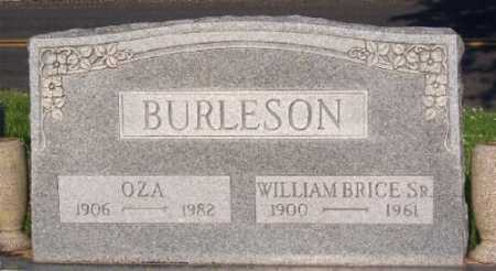 BURLESON, OZA - Marion County, Arkansas | OZA BURLESON - Arkansas Gravestone Photos