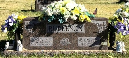 BURLESON, JOE M. - Marion County, Arkansas | JOE M. BURLESON - Arkansas Gravestone Photos
