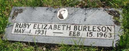 ROGERS BURLESON, RUBY ELIZABETH - Marion County, Arkansas | RUBY ELIZABETH ROGERS BURLESON - Arkansas Gravestone Photos