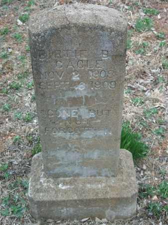 CAGLE, BIRTIE B. - Marion County, Arkansas | BIRTIE B. CAGLE - Arkansas Gravestone Photos