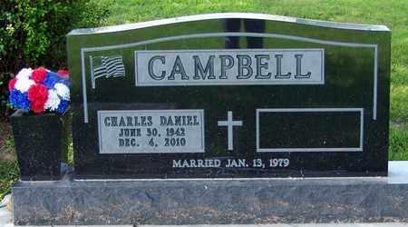 CAMPBELL, CHARLES DANIEL - Marion County, Arkansas | CHARLES DANIEL CAMPBELL - Arkansas Gravestone Photos