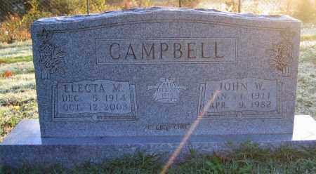 CAMPBELL, ELECTRA M - Marion County, Arkansas | ELECTRA M CAMPBELL - Arkansas Gravestone Photos