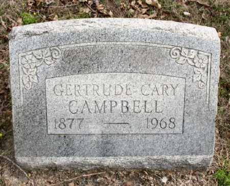 CAMPBELL, GERTRUDE - Marion County, Arkansas | GERTRUDE CAMPBELL - Arkansas Gravestone Photos